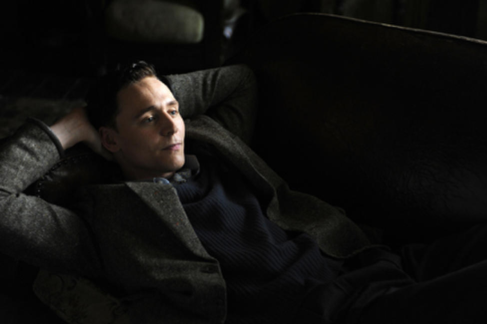 Tom Hiddleston as Freddie Page in ``The Deep Blue Sea.''